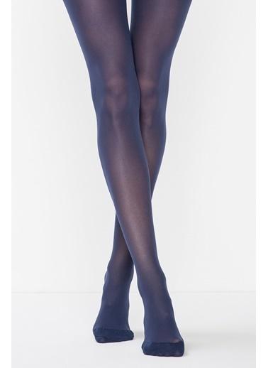 Penti Kadın Açık Lacivert Akıllı Mikro 40 Külotlu Çorap PCPPTABK15SK Mavi